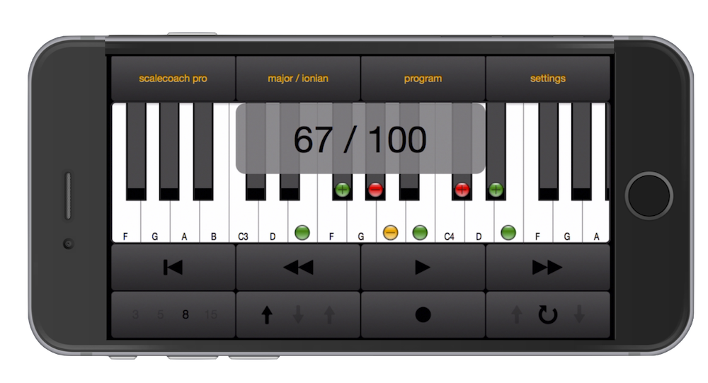 SCALECOACH, INTONATION, SCALE COACH, app, voice, sing, scale